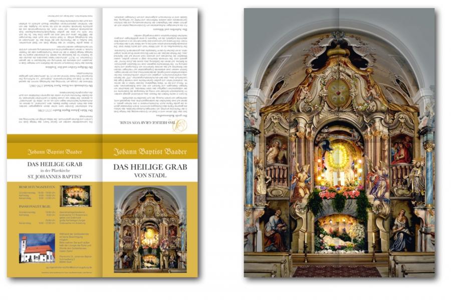 Faltblatt Heiliges Grab Stadl