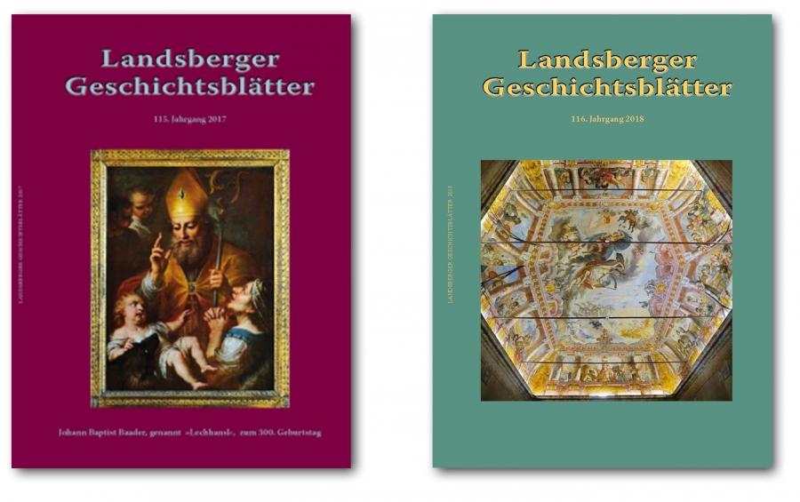Geschichtsblätter 2017 und 2018