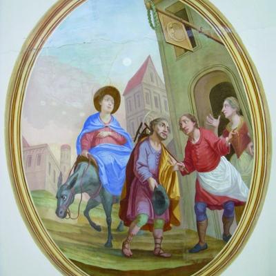 Herbergssuche von Maria und Josef