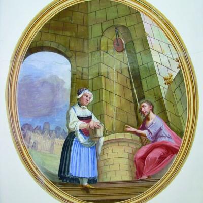 Jesus und die Samariterin am Jakobsbrunnen