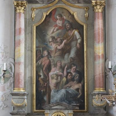 St. Josef als Patron der Sterbenden