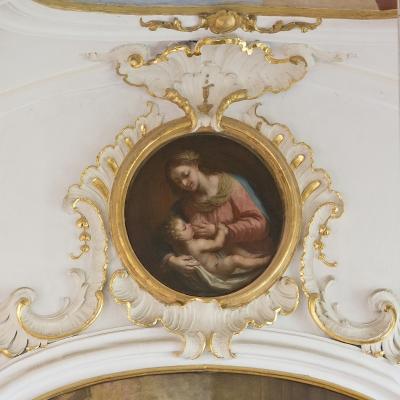 Maria lactans (Stillende Muttergottes)