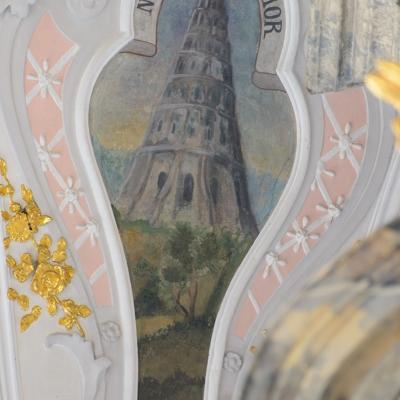 Landschaftsemblem Turm