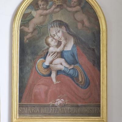 Asch Leonhardkapelle Maria-Hilf-Bild
