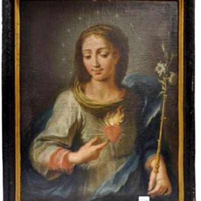 Düsseldorf, Lombardische Madonna Auktionsbild