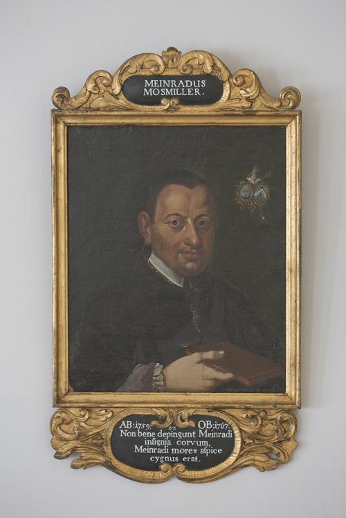 Andechs Kloster Porträt Abt Moosmüller