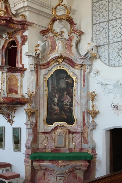 St. Georgen Seitenaltar rechts gesamt